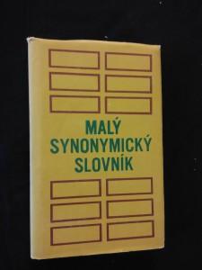 náhled knihy - Malý synonymický slovník  (Ocpl, 216 s.)