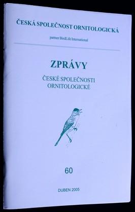 náhled knihy - Zprávy české společnosti ornitologické: 60
