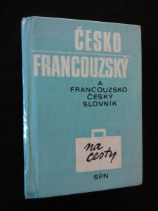 náhled knihy - Francouzsko-český a Česko- francouzskiý slovník na cesty (A6, lam, 448 s.)
