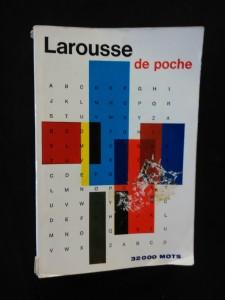 náhled knihy - Larousse de poche - 32 000 mots (Obr, 508 s.)