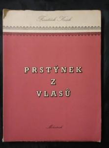 náhled knihy - Prstýnek z vlasů (A4, Obr., il H. Chvojková)