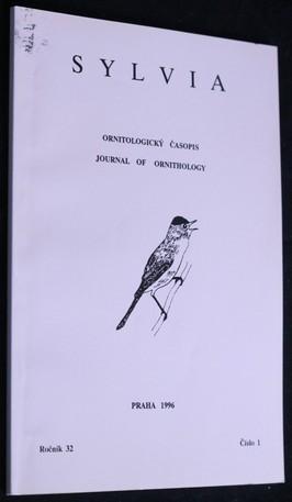náhled knihy - Sylvia: ornitologický časopis 1