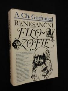 náhled knihy - Renesanční filozofie (Ocpl., 384 s.)