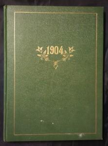 náhled knihy - Vlastenecký kalendář na přestupný rok 1904, roč. 52 - + výroční trhy a reklama (A4, Ocpl, 95 s. ad.)