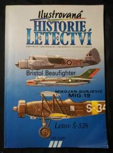 náhled knihy - Ilustrovaná historie letectví - Bristol Beaufighter, MiG-19, Letov Š-328 (A4, Obr, 144 s., obr.)
