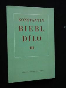 náhled knihy - Dílo III 1931 - 1939 (Ocpl, 104 s.)