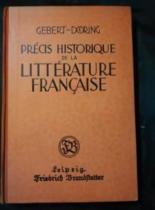 náhled knihy - Précis historique de la Littérature francaise (A4, Oppl, 240 s.)