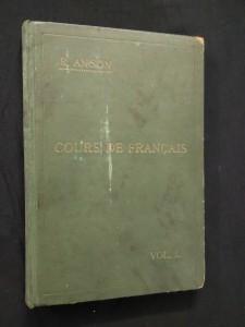 náhled knihy - Cours de Francais I