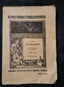 náhled knihy - Dějepis národa československého (Obr, 200 s., 48 il., mapky)