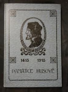 náhled knihy - Památce Husově 1415 - 1915 (Ocpl, 72 s., vlož il. K. Svoboda)
