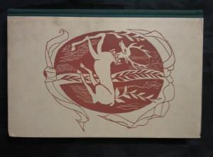 náhled knihy - Zahrada lásky - Staročeský dekameron (A4, Oppl, 174 s., il. M. Troup, vaz a typo O. Menhart)