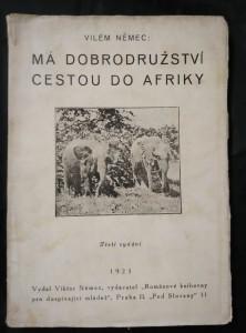náhled knihy - Má dobrodružství cestou do Afriky (Obr., 132 s.)