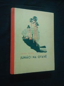 náhled knihy - Junáci na Otavě (A4, Oppl, il. M. Novák)