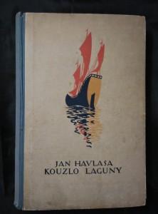 náhled knihy - Kouzlo laguny (Oppl, 428 s., il. J. Havlasa)