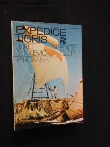 náhled knihy - Expedice Tigris (Ocpl., 304 s. a 32 příloh)