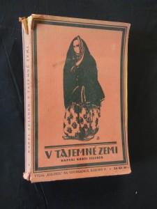 náhled knihy - V tajemné zemi - Příhody českého vojáka v Albánii 1917 - 18 (A4, Obr, 500 s., obr příl, mapka)