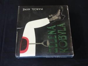 náhled knihy - Zelená kobyla (Ocpl., 316 s., ob. + il. B. Štěpán)