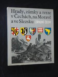náhled knihy - Hrady, zámky a tvrze v Čechách, na Moravě a ve Slezsku II -  Západní Čechy (A4, Ocpl, 526 s.)