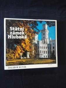 náhled knihy - Státní zámek Hluboká (68 bar. Foto)