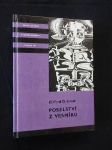 náhled knihy - Poselství z vesmíru (il. T. Rotrekl)