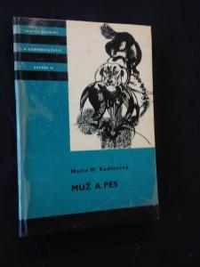 náhled knihy - Muž a pes (KOD 96, lam, 172 s., il. J. Krásl)