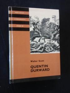 náhled knihy - Quentin Durward (lam,, 512 s, il. F. Hudeček)