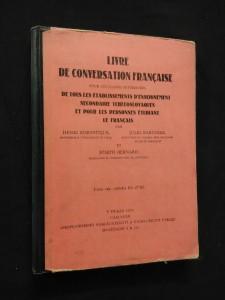 náhled knihy - Livre de conversation francaise (Obr., 222 s.)