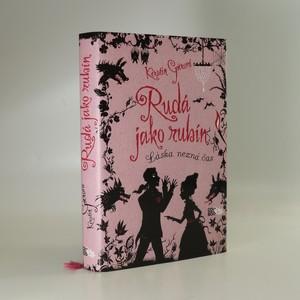 náhled knihy - Rudá jako rubín: Láska nezná čas