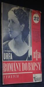 náhled knihy - Romány do kapsy, č. 22, ročník I.: Urfa