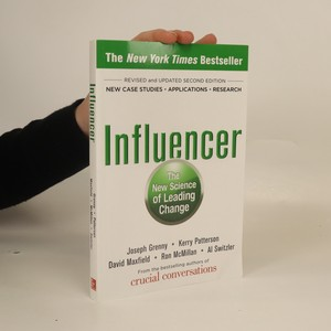 náhled knihy - Influencer. The new science of leading change