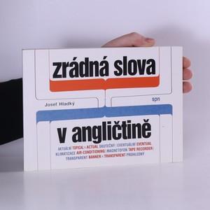 náhled knihy - Zrádná slova v angličtině