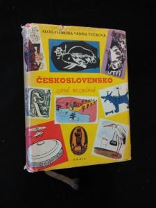 náhled knihy - Československo - země neznámá I, II - Čechy/Morava (Ocpl, 548, 538 s., ob a il. R. Mader)