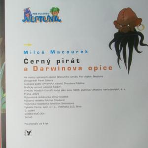 antikvární kniha Černý pirát a Darwinova opice, 2004