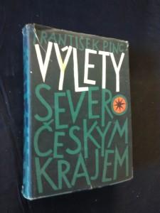 náhled knihy - Výlety severočeským krajem (Ocpl, 420 s., 99 foto, 4 plánky)