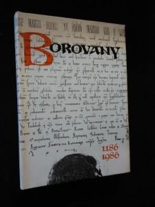 náhled knihy - Borovany 1186 - 1986 (A4, Ocpl, 248 s, obr přílohy)