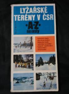 náhled knihy - Lyžařské terény v ČSR