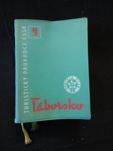 náhled knihy - Táborsko - Turistický průvodce ČSSR (A5, 228 s., mapa)