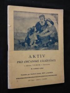 náhled knihy - Aktiv pro občanské záležitosti v okrese Tábor (vítání občánků, hovory nad hrobem)
