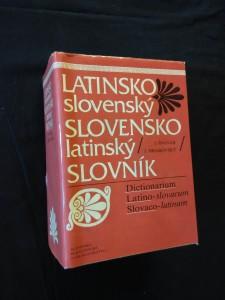 náhled knihy - Latinsko-slovenský, Slovensko-latinský slovník (Ocpl, 1224 s.)