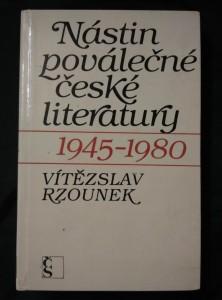 náhled knihy - Nástin poválečné české literatury