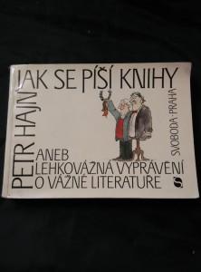 Jak se píší knihy (Obr, 320 s., il. V. Renčín)