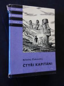 Čtyři kapitáni - objevitelské  plavby (KOD 35, lam, 334 s. mapka)