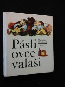 náhled knihy - Pásli ovce valaši (lam, 126 s., il. L. Čapek)