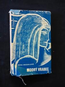 náhled knihy - Modrý vrabec (Ocpl, 304 s., il. J. Petráček)