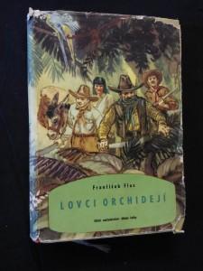 náhled knihy - Lovci orchidejí  (A4, Oppl, ob a il. V. Junek)