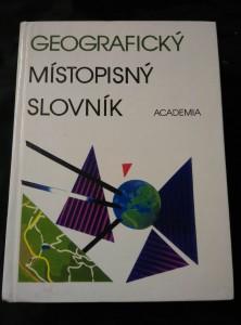 Geografický místopisný slovník (lam, 924 s.)