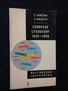 Evropské literatury 1945 - 1958