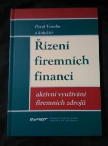 náhled knihy - Řízení firemních financí - aktivní využívání firemních zdrojů (A4, lam, 222 s.)