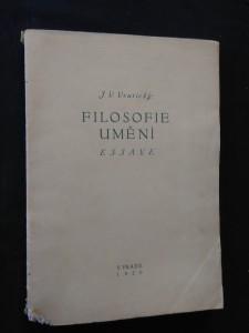 náhled knihy - Filosofie umění