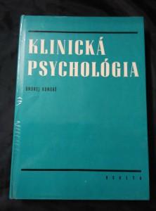 Klinická psychológia (A4, lam, 408 s.)